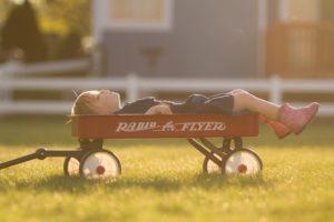 子ども、寝冷え、心配、寝具、オールコットンに変える