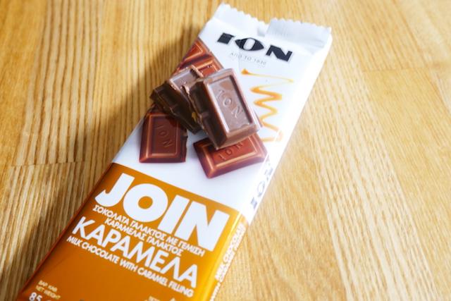ギリシャ、お土産、定番、チョコレートメーカー、イオン