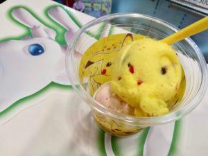 ピカチュウ、コラボアイス、かわいい、サーティワンアイスクリーム