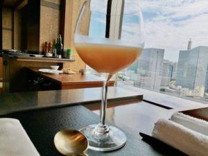 記念日、デート、ラグジュアリー、鉄板料理店、さがみ、横浜ベイシェラトン