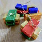クリスマスオーナメント、可愛いい、チョコレート、リゲライン、ドイツ