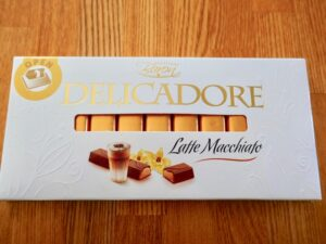 業スー、新しい、輸入チョコレート、バロン、ラテマキアートチョコバー