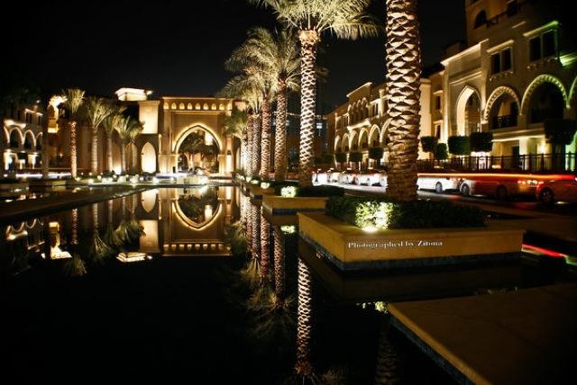 ウォーターディスカス、アンダーウォーター、ホテル、アラブ首長国連邦、ドバイ、高級、スパ