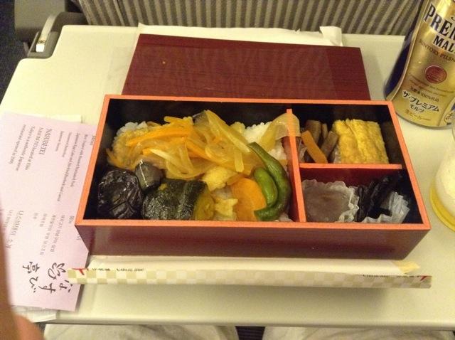 日本航空、なすび亭、機内食、高品質