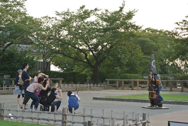 熊本城、有名な三大名城