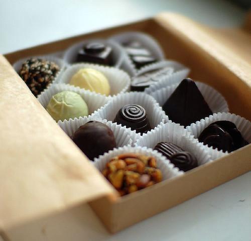 マクロビオティック、チョコレート、バレンタインデー