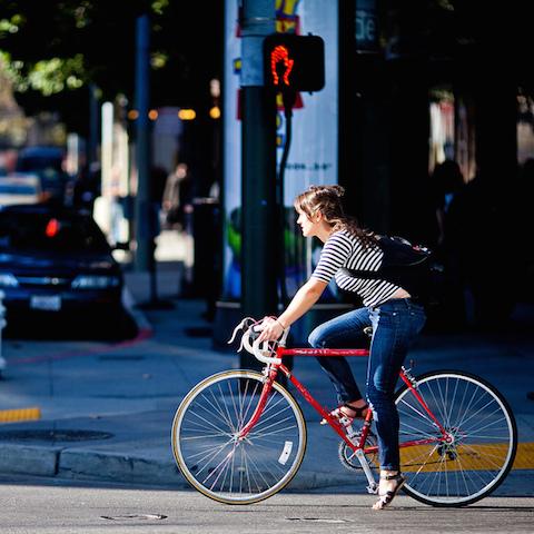 バンコク、緑の自転車、パンパン、無料レンタル自転車