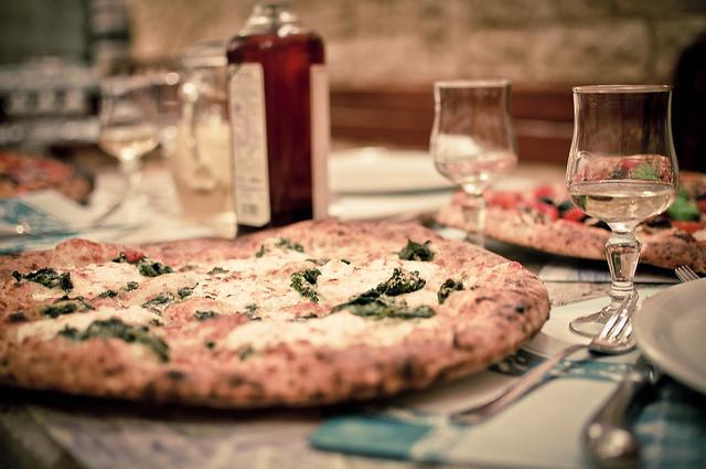 二番目に人気のイタリアン、本当に美味しい、ピッツアリア