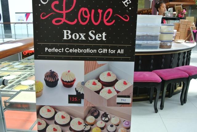 アフタヌーンティー、ギフト、タイ、カップケーキラブ、見た目が可愛いケーキ