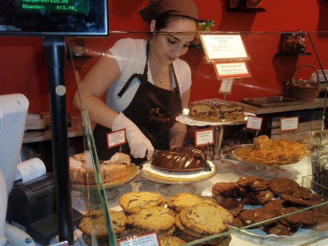 ニューヨーク、チョコレートショップ、ジャックトレス、ホットチョコレート、アイスクリーム、美味しい