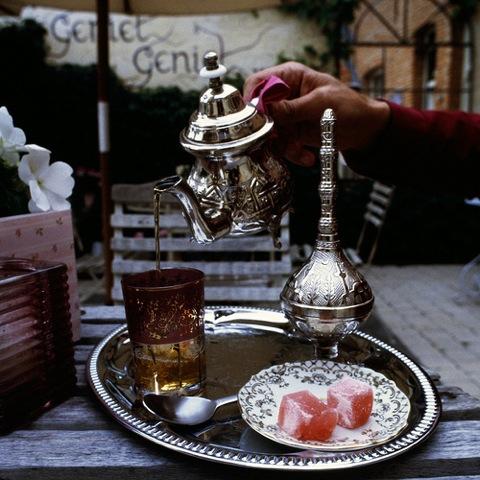 トルコのスタバ、限定、トルココーヒー、伝統菓子、コーヒーロクム