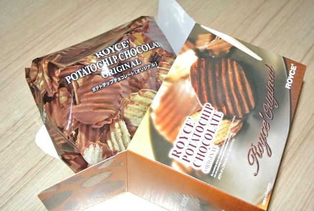 空港、お土産で迷ったら、北海道のロイズ、ポテトチップスチョコレート、最高に美味しい、お勧め