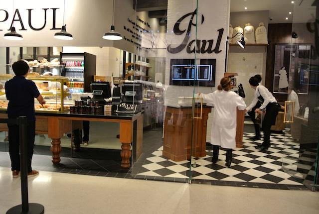 フランスパン有名、ポール、バンコク初上陸、セントラルエンバシー