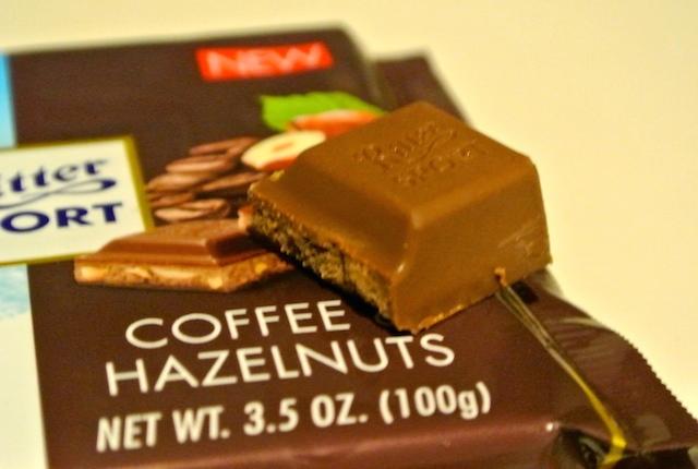 ドイツ、リッタースポーツ、コーヒーカシューナッツチョコレート、冬季限定