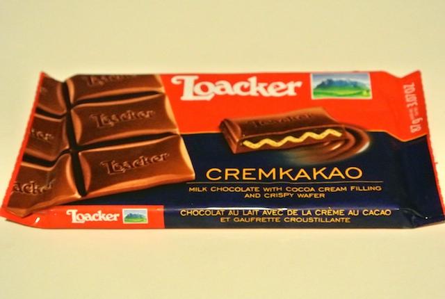 イタリア、老舗、ローカー、ミルクチョコレート、ウエハース