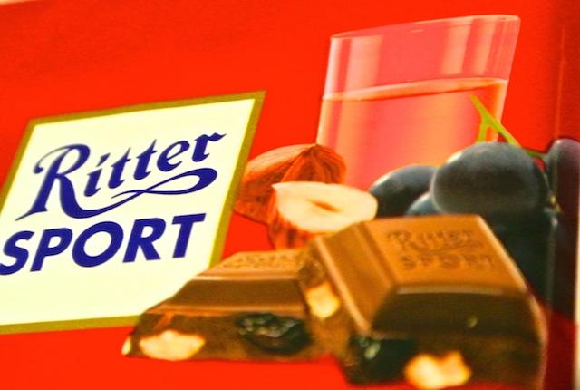 リッタースポーツ、チョコレート、ラムレーズンヘーゼルナッツ、ジャマイカンラム、美味しい