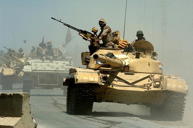 イラクチグリスに浮かぶ平和、ドキュメンタリー映画、ブッシュが始めた戦争