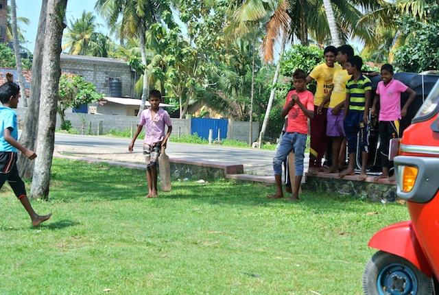 イギリス発祥、クリケット、スリランカ、大人気