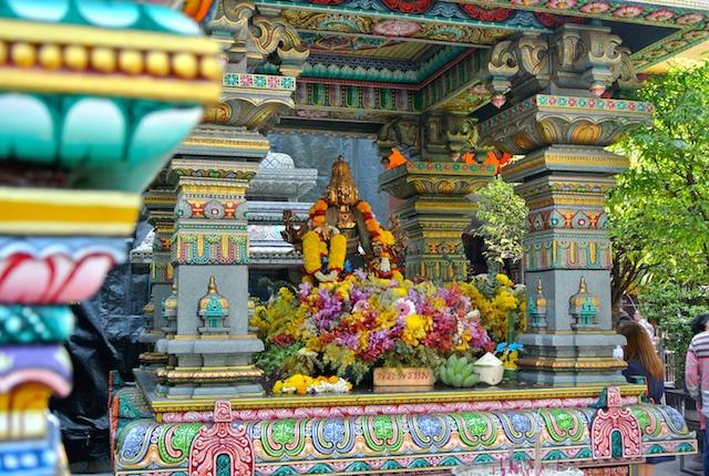 シーロム、ヒンドゥー寺院、ワット・ケーク、異国情緒、散策