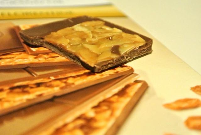 スイス、ヘイディー、フィレンツェ、チョコレート、アーモンドトフィー、上品、完璧