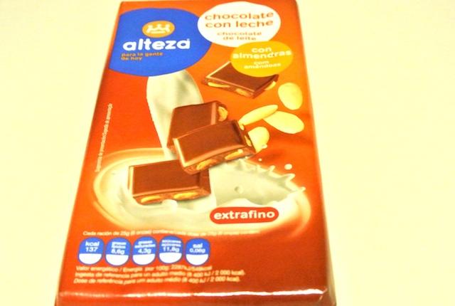 アルテッツァ、アーモンド、スペイン発、レア、チョコレート