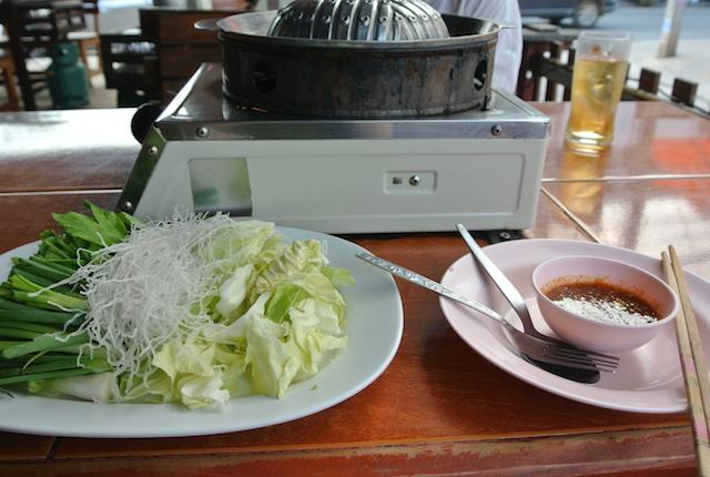 コラート、遠征、韓国風焼き肉、ヌアヤーン・ガウリー