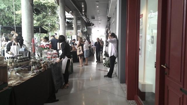 月に一度開催、ファーマーズマーケット、バンコク、Kビレッジ、オーガニック、ウェルネス