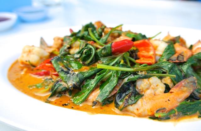 ホアヒン、タイ人が行列する、人気のシーフードレストラン、味とコストパフォーマンス最高
