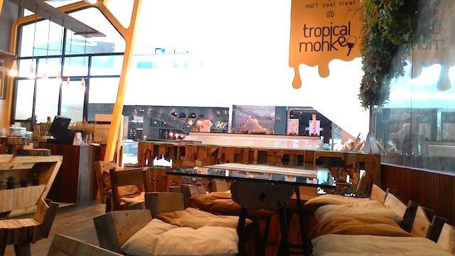 ホームメイドアイスクリーム、トロピカルモンキー・カフェ、セントラルエンバシー