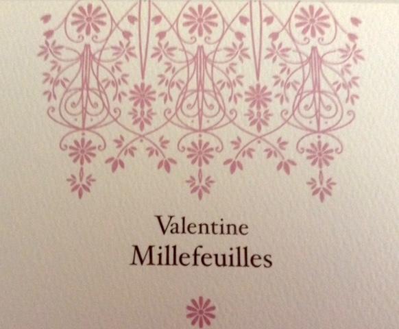 5種類のお酒、ベルン、バレンタイン限定ミルフィーユ、成田、一年中販売