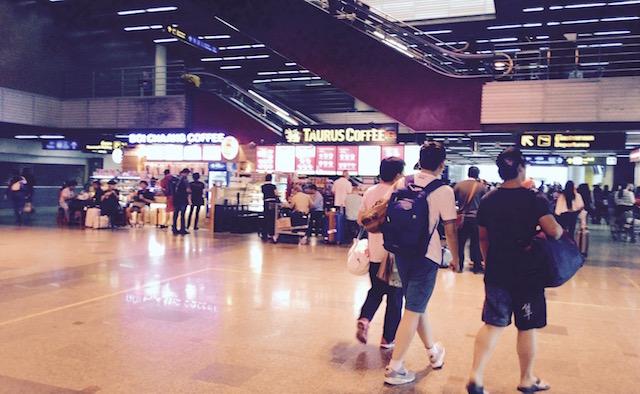国内線、LCC、バンコクのドンムアン空港、ミニマム、行列なし