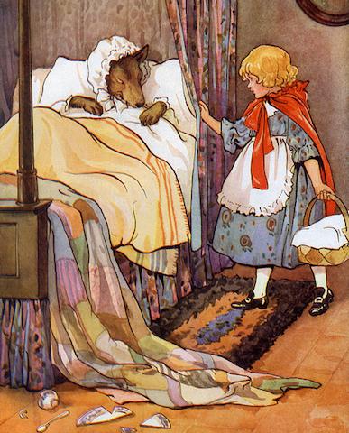グリム童話、赤ずきん、もう一つのお話、アマンダ・サイフィッド、美しすぎる
