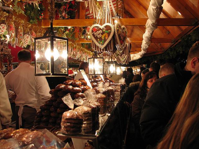 本場ドイツ、東京クリスマスマーケット2015、日比谷公園開催中