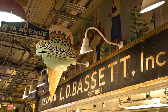 アメリカ、最も歴史が長い、アイスクリームショップ、バセットアイスクリーム