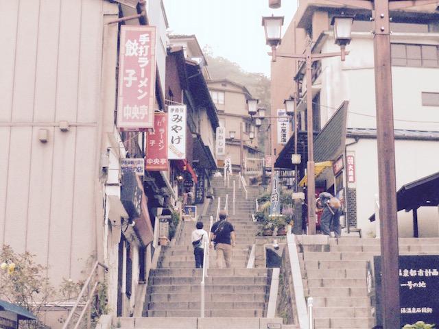 東京から日帰り、おすすめ避暑地、群馬、伊香保温泉