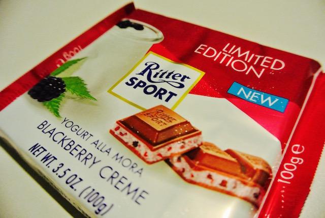 新しい、リッタースポーツ、期間限定、チョコレート、ザクザク食感、美味しい