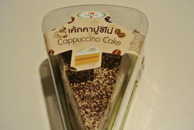 セブンイレブン、タイ、プライベート商品、カプチーノケーキ