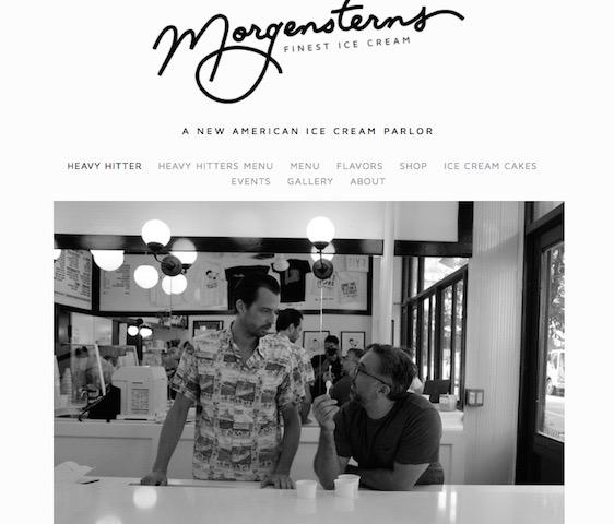 フォトジェニック、おしゃれな写真、インスタグラム、N.Yのアイスクリーム店、モーガンスターンズ ファイネスト
