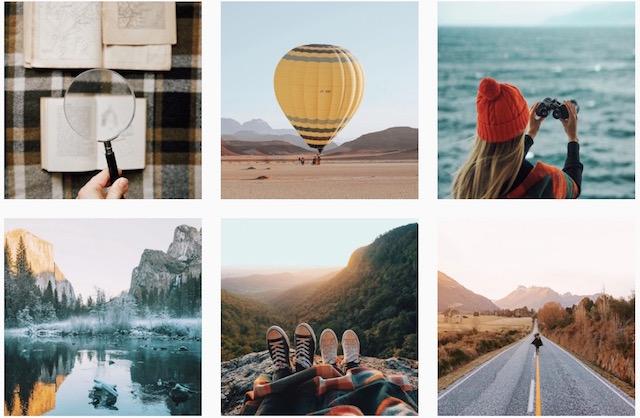 旅に出よう、カメラ一つ、世界を周る、海外のインスタグラマー
