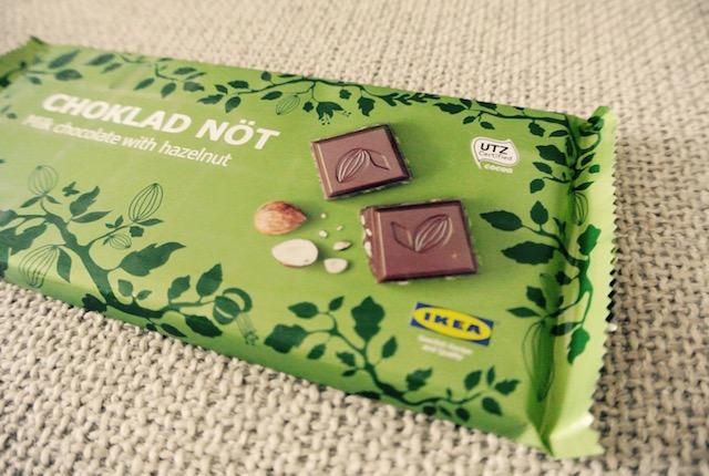 イケアブランド、美味しい、ヘーゼルナッツチョコレート