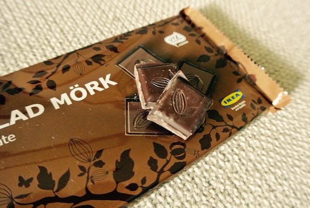 スウェーデン発祥、イケア、オリジナル、ダークチョコレート
