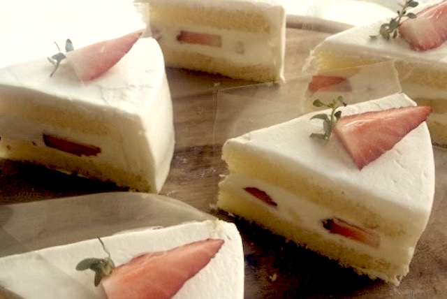 プロンポン、日本のケーキ屋、ミカノム、期間限定、モンブラン