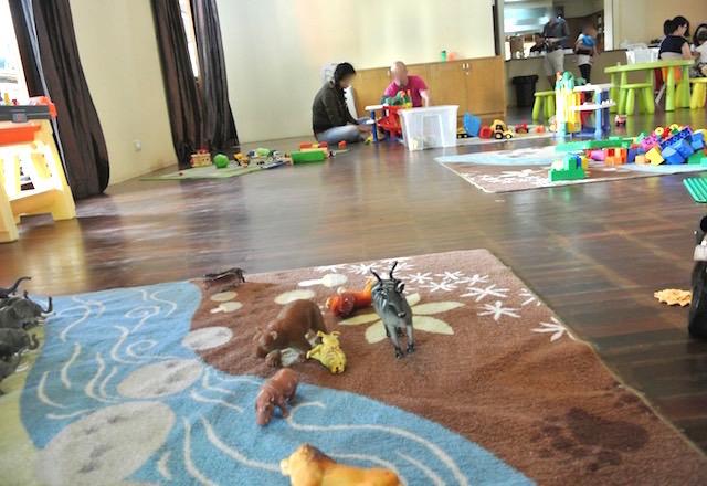 バンコク、外国人のママ友、タイニートッツ、クライストチャーチホール