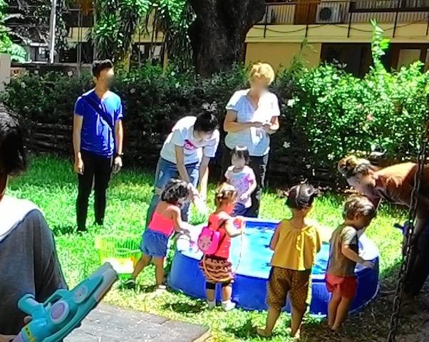 バンコク、外国人のママ友、タイニートット、クライストチャーチホール