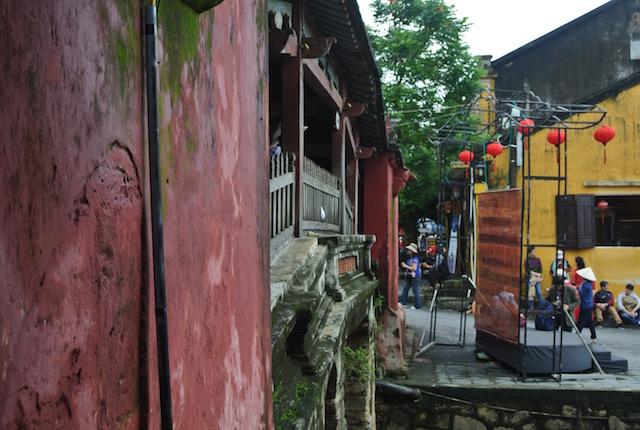 ノスタルジック、幻想的、世界文化遺産の街、ベトナム、ホイアン