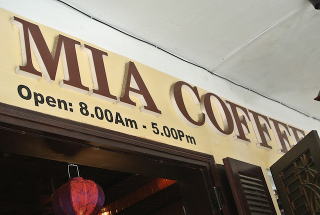 テラス席心地よい、自家焙煎コーヒー、チーズケーキ、美味しい、ミアコーヒー