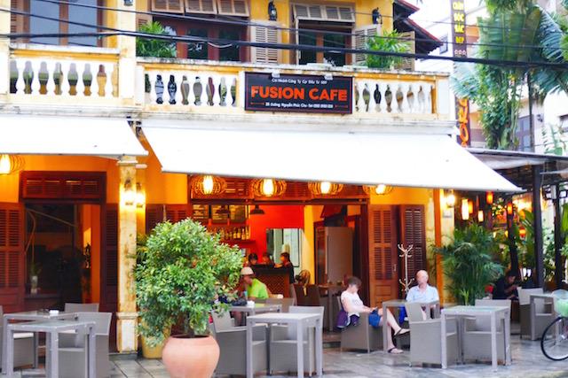 ホイアン対岸、スタイリッシュ、レストラン、フュージョンカフェ