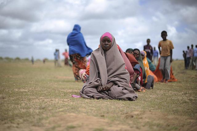 今も、ソマリア、干ばつ、飢餓