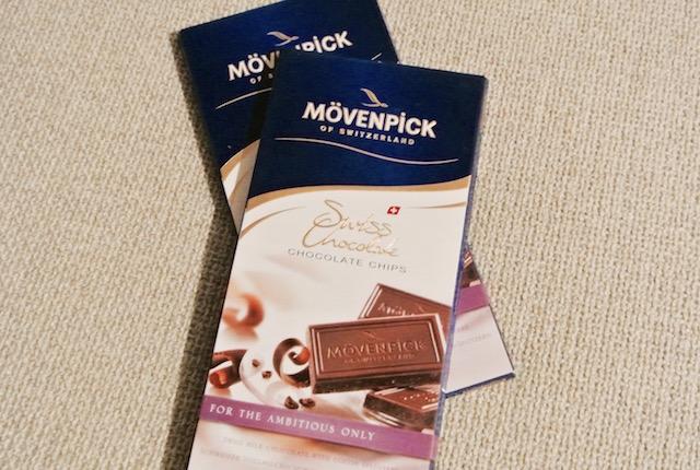 リゾートホテル、レストラン、モーベンピック社、高級チョコレート