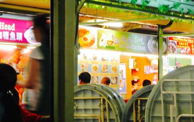 マレー系、中華系、インド系、料理、ペナン通り、レッドガーデン